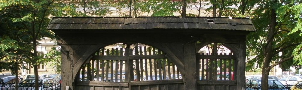 Az eredeti Szojka kapu - Originál Szojkovej brány